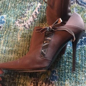 Casadei high heeled booties 9 1/2